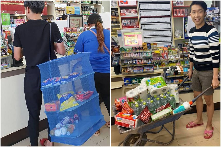 Customers can now pay a small fee for reusables but budget-conscious shoppers saved money by grabbing anything available and celebrating the different choices on social media.
