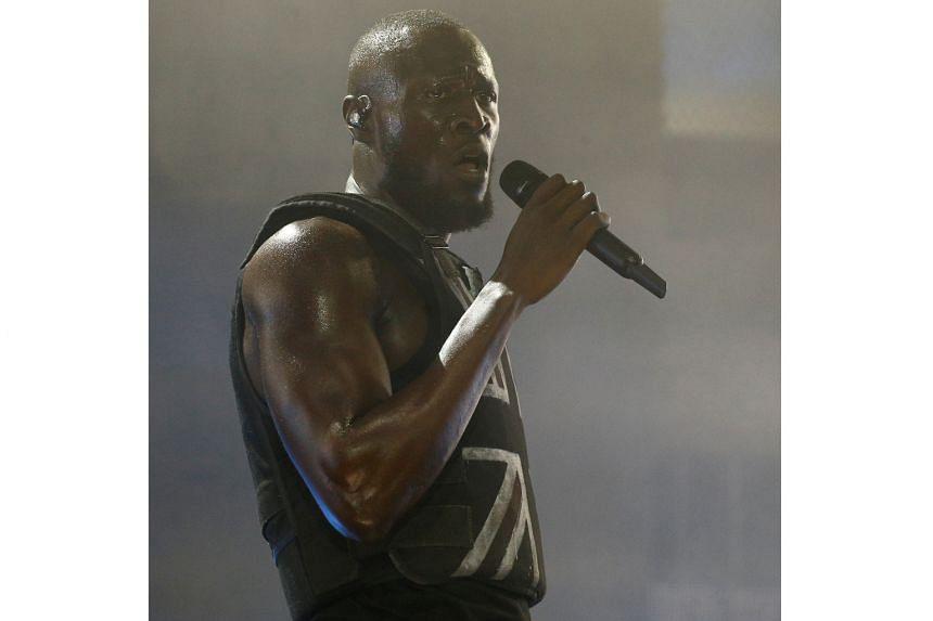 British rapper Stormzy.