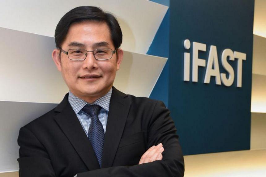 Mr Lim Chung Chun, chairman and chief executive of iFast.