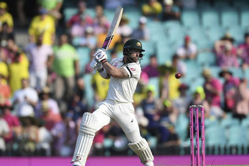 Australia's Matthew Wade batting on day one of the third cricket test match between Australia and New Zealand at the Sydney Cricket Ground on Jan 3, 2020.