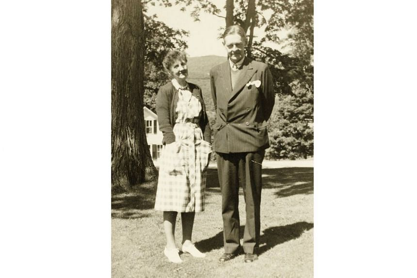 Scholar Emily Hale and poet T.S. Eliot (both above) in Dorset, Vermont, in 1946. The letters remained hidden on both their wishes, for 50 years after her death in 1969.