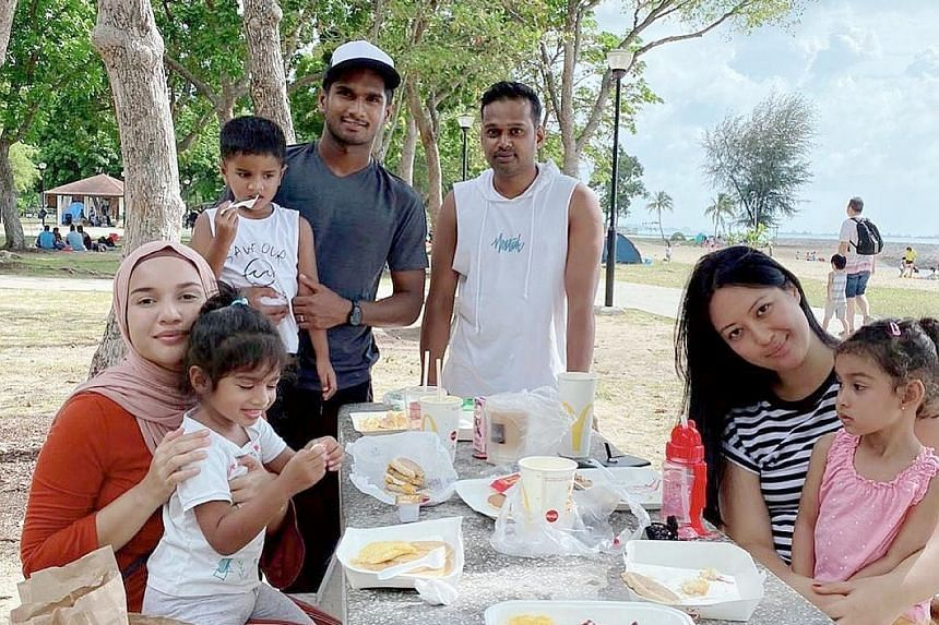 SWEET TWEET Singapore national football captain Hariss Harun enjoying his #firstmeal2020 at East Coast Park. Follow @straitstimesfood for delicious eats. For other newsmakers' first meals: READ: str.sg/blurb135