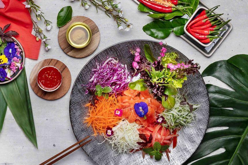 Thai Inspired Prosperity Yu Sheng.