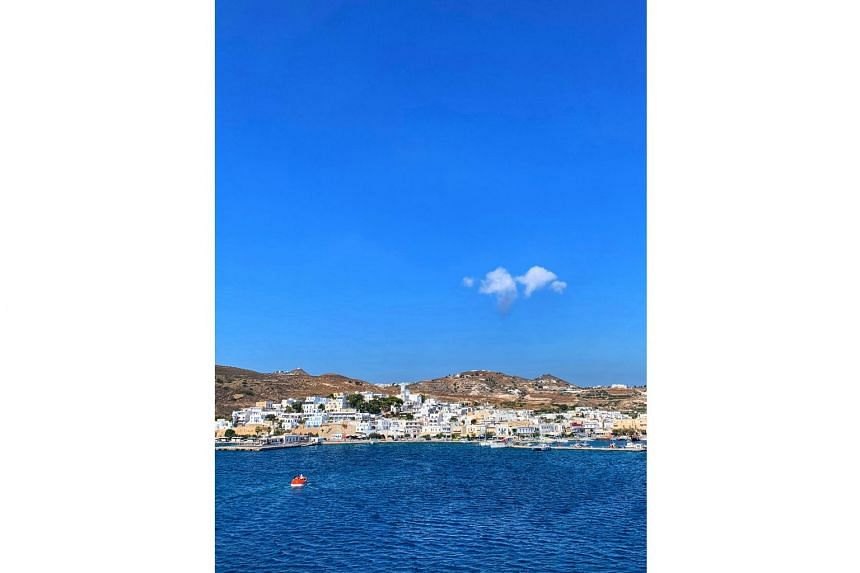 Milos (above) is a peaceful haven in contrast to the tourism-driven Mykonos. Because it is a smaller island with shallower waters, it is inaccessible to large cruise ships and the place is almost deserted.