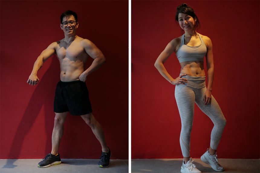 Left: Eugene Ong. Right: Natasha Goh.