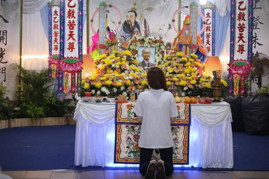 The send-off of Mr Kee Kin Tiong, 82, had been done according to Christian traditions and funeral rites, when the man was a Taoist, said aggrieved members of his family.