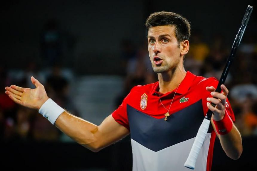 """Novak Djokovic said he hoped the crisis would """"dissipate"""" soon but that an action plan would be needed to avoid any impact on the health of players if it did not."""