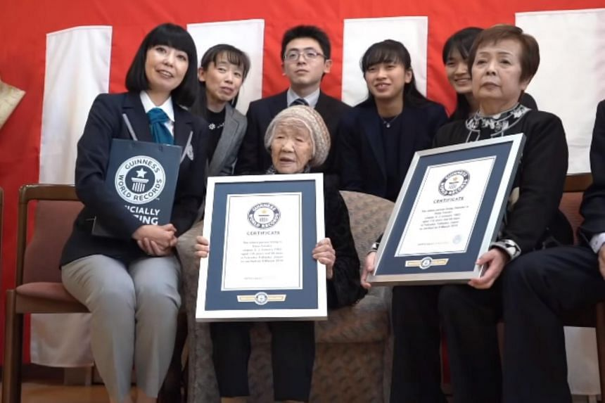 Kane Tanaka was last year confirmed as the oldest living person, aged 116 years 66 days old as of March 9, according to Guinness World Records.