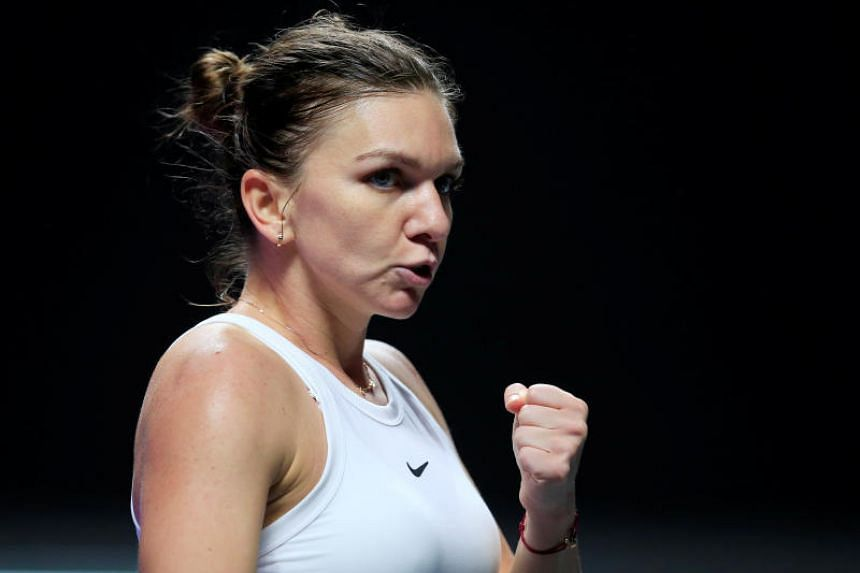 Romanian tennis player Simona Halep said she will donate money every time she yells at her Australian coach.