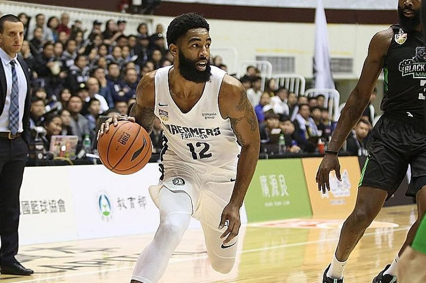 Formosa Dreamers' Jerran Young had a standout game with 21 points, nine rebounds, six assists and five steals.