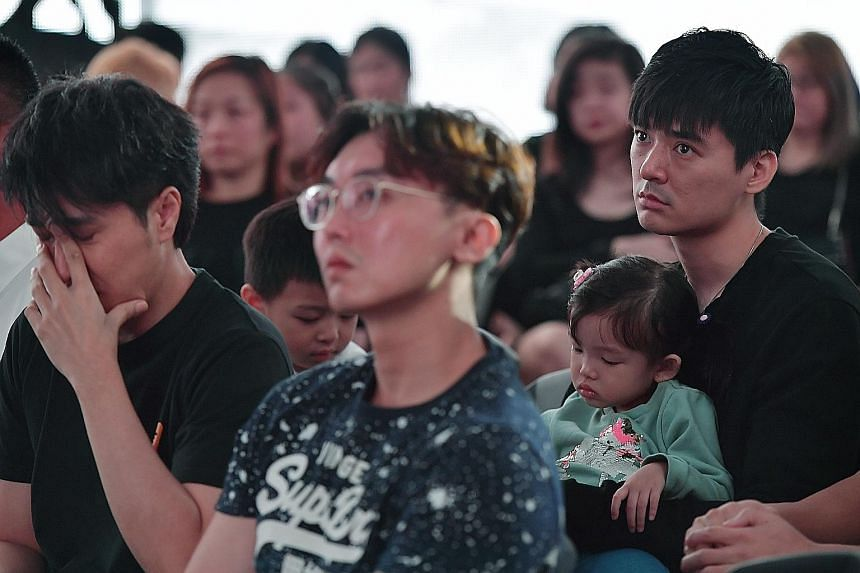 More Than 200 People Attend Aloysius Pang S Memorial Event