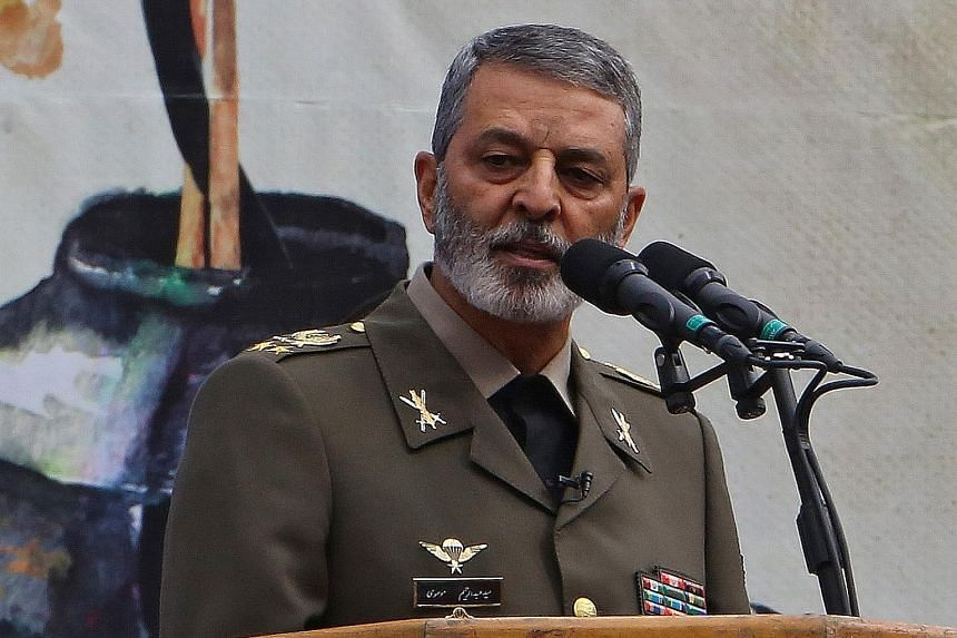 IRAN'S ARMY CHIEF MAJOR-GENERAL ABDOLRAHIM MOUSAVI, on US President Donald Trump's threat to strike 52 targets in Iran.