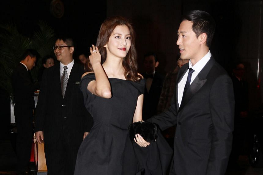 Raymond Lam and Karena Ng pictured in 2013. The couple were in a high-profile relationship for five years.