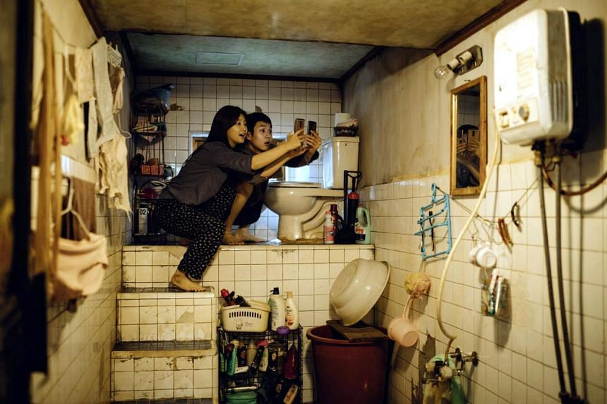 Park So Dam (left) and Choi Woo Sik star in Parasite. The movie won the Golden Globe for best foreign language film.