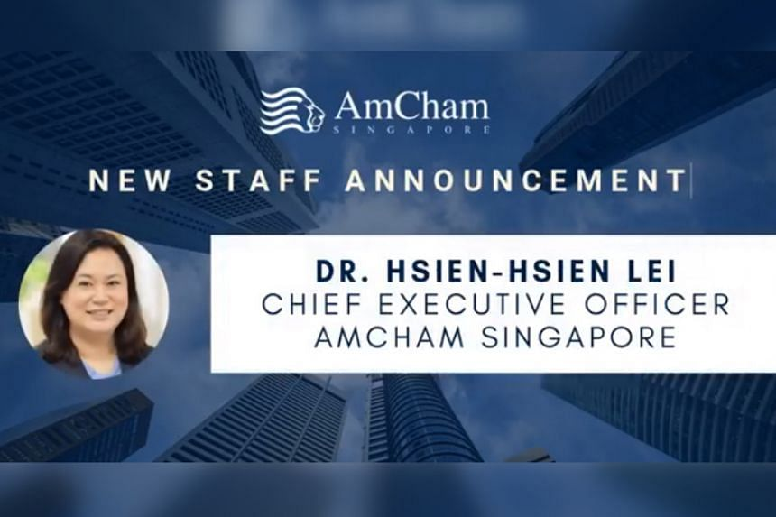 Dr Lei Hsien-Hsien took up her new role on Jan 2, 2020.