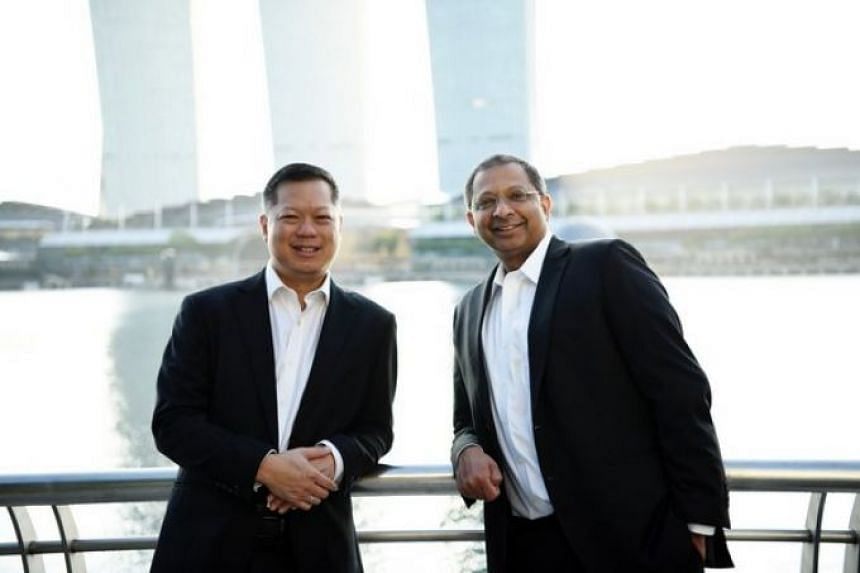 The new firm, PK Wong & Nair, will be jointly led by co-managing directors Mark Wong (left) and Suresh Nair (right).