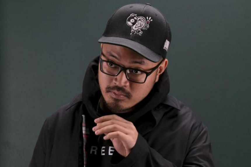 Irwan Awalludin (above) designed the cover art and packaging for the self-titled album by Chicago duo Intellexual. He also worked on Meek Mill's 2018 album, Championships, which was displayed on billboards in New York's Times Square.