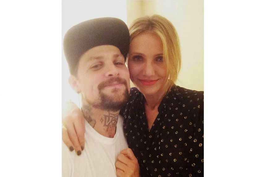 Cameron Diaz and her husband Benji Madden (both above) announced the birth of their daughter Raddix on Instagram.