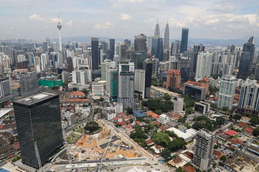 The skyline of Kuala Lumpur on Oct 23, 2019. Economic matters were the biggest concerns faced by Malaysians, followed by leadership, administration, politics and racial issues.