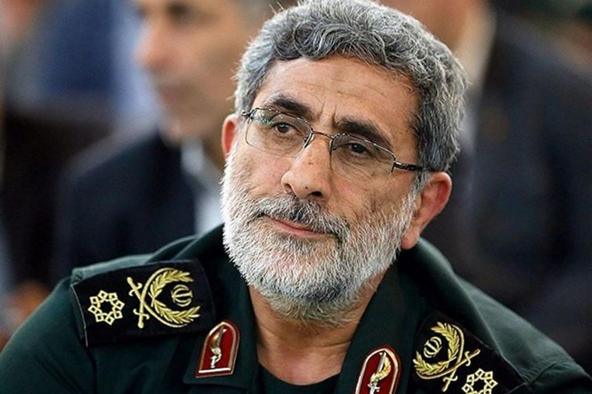 Esmail Ghaani now serves as the head of the Revolutionary Guard's Quds Force.