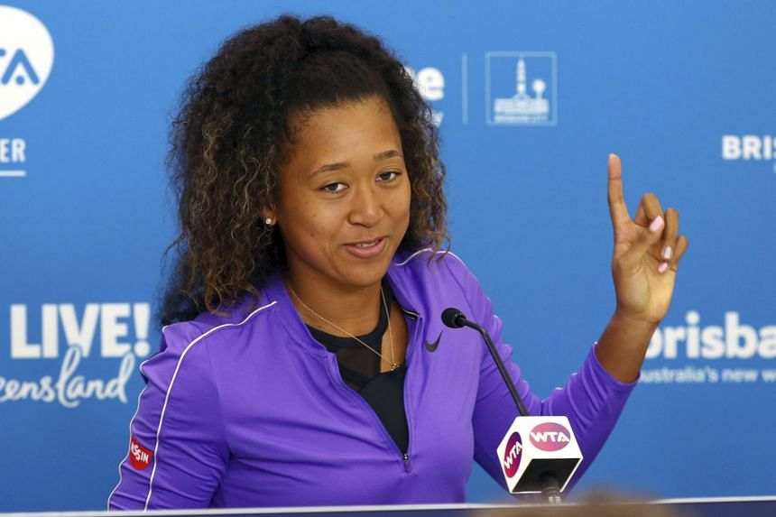 "Naomi Osaka (pictured) bumped into Beyonce and her husband Jay-Z while still ""depressed"" after losing in the fourth round at the US Open."