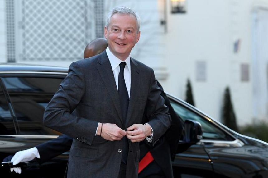 "French Finance Minister Bruno Le Maire says a trade war with the US is in no one's interest and called on the US to ""return to their senses""."