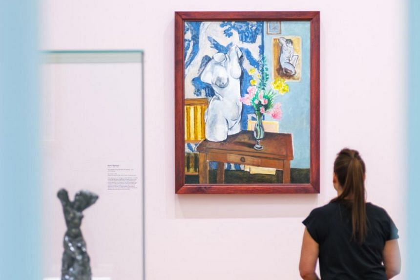 The National Gallery of Australia said it would not open on Monday in part to protect works being shown in its Matisse and Picasso exhibition, including some borrowed from the Musée Picasso in Paris.