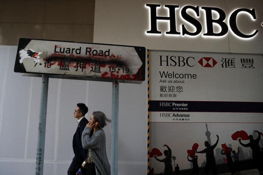 HSBC became the target of the public's ire in Hong Kong after it closed a protest-linked account.