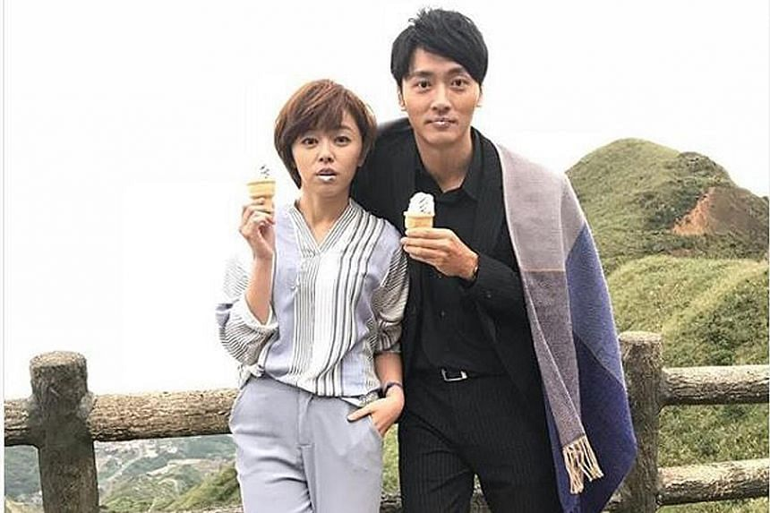 Formosa TV reportedly put actor Mars Ma and actress Hitomi Wang in cold storage late last year after their affair made headlines.