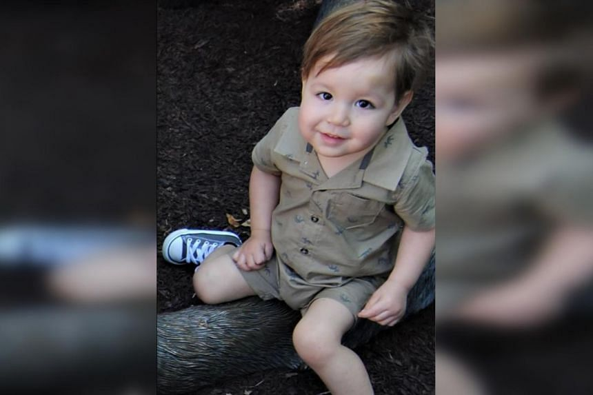 A photo provided by lawyer Alan M. Feldman shows two-year-old Jozef Dudek, who was crushed to death in May 2017 by a popular Ikea dresser model that had been recalled after at least five other child fatalities.