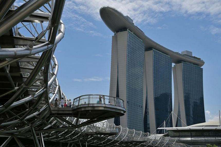 According to court documents, the tourist's actions caused more than $8,700 in damage to a hotel room in Marina Bay Sands.