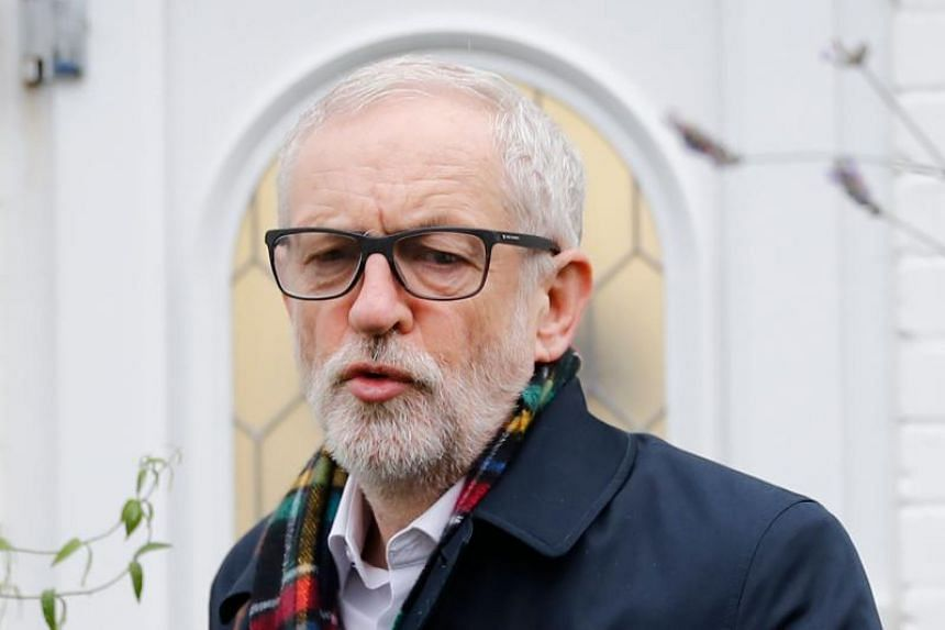 Labour leader Jeremy Corbyn announced he would step down following last month's crushing defeat to British Prime Minister Boris Johnson's Conservatives.