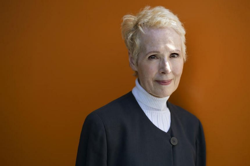In a file photo taken on June 23, 2019, writer E. Jean Carroll is photographed in New York.