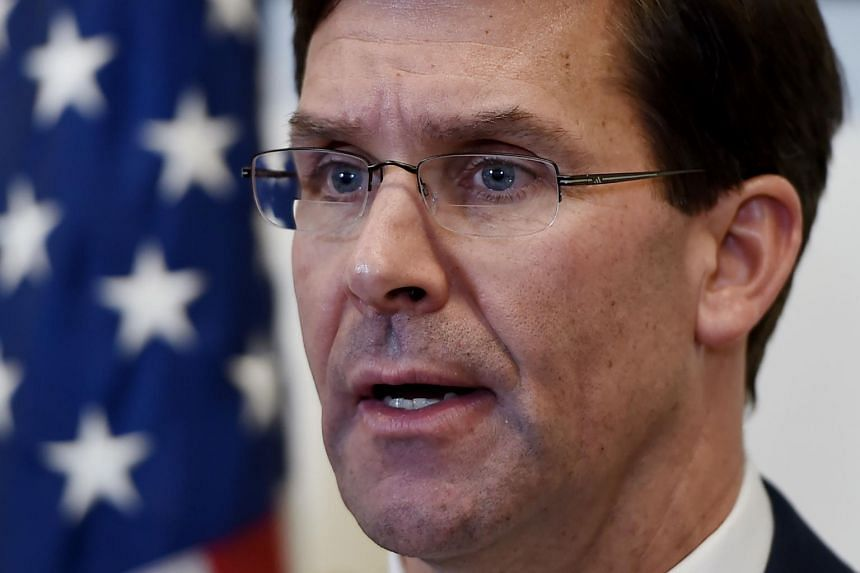 US Defence Secretary Mark Esper acknowledged that striking cultural sites with no military value would be a war crime.