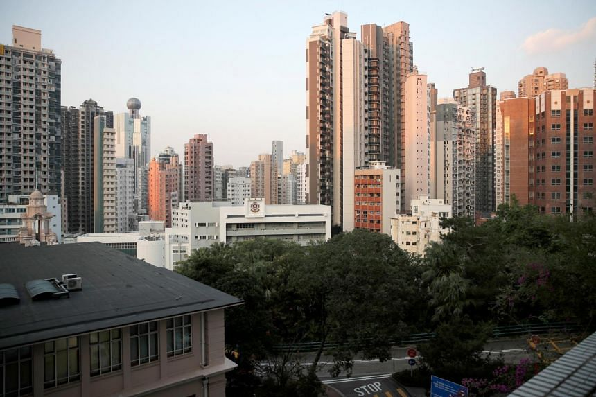 The skyline of Hong Kong seen in a photo taken on Oct 18, 2019.