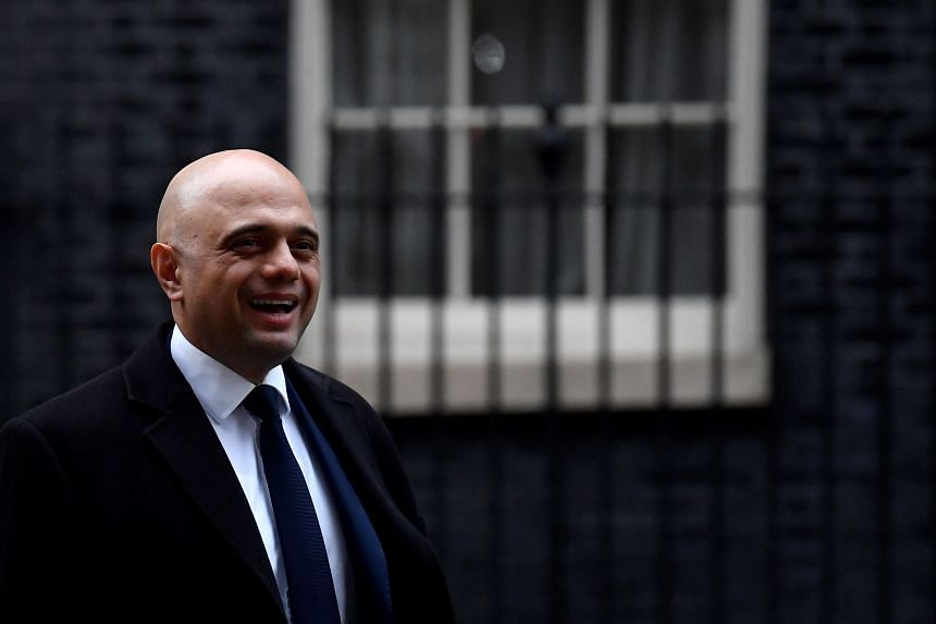 British finance minister Sajid Javid said he would take investment spending to almost double its historic average.