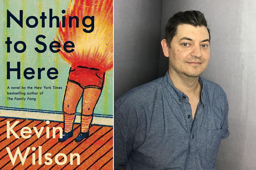 American novelist Kevin Wilson has a knack for oddball material.