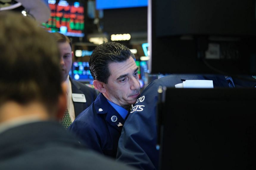 Traders work on the floor of the New York Stock Exchange on Jan 3, 2020.
