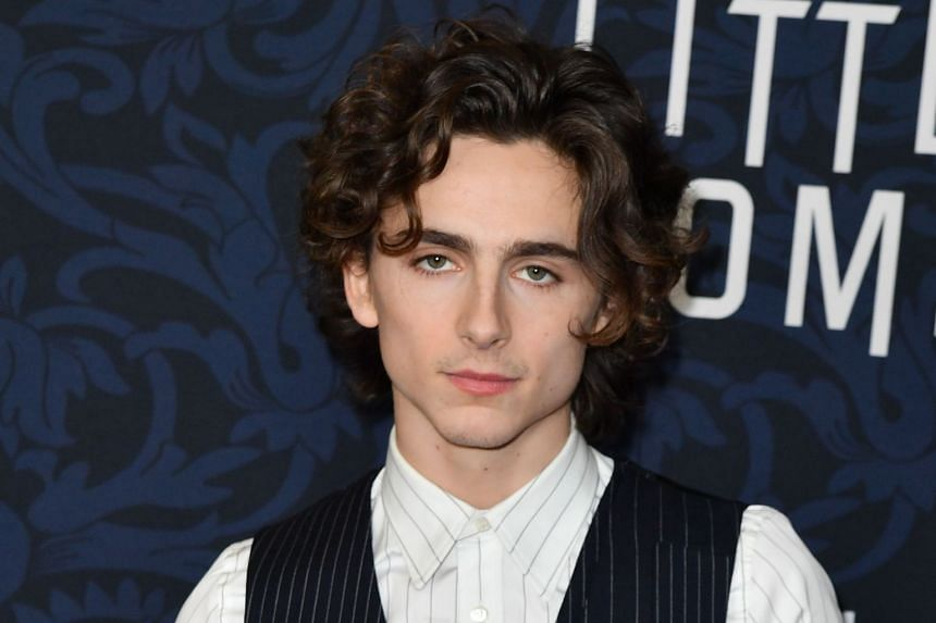 Reports have surfaced that actor Timothee Chalamet (pictured) has been tipped to portray Bob Dylan in a biopic.