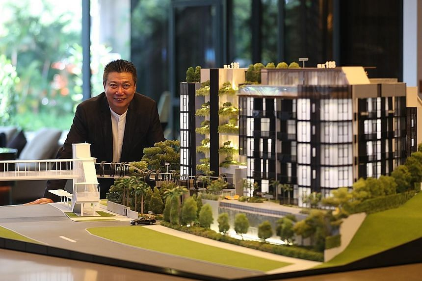 """Mr Francis Koh, managing director and group CEO of Koh Brothers, said that if not for the supply overhang, the starting price for the 69-unit Van Holland """"would have been above $3,000 psf"""". Its launch prices will start from $2,600 psf and may well se"""