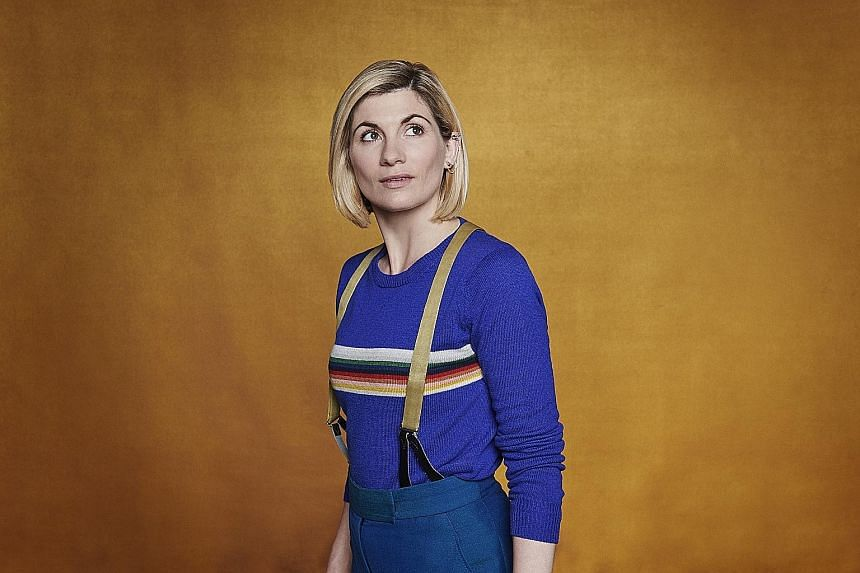 Actress Jodie Whittaker returns in Doctor Who 12, which premieres in Singapore on Friday.