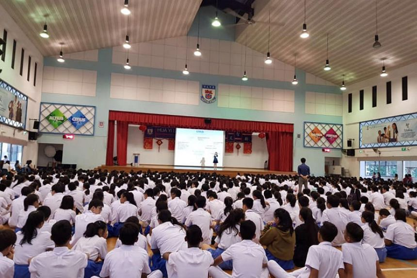 Huayi  Secondary is among the schools here that have a House System.