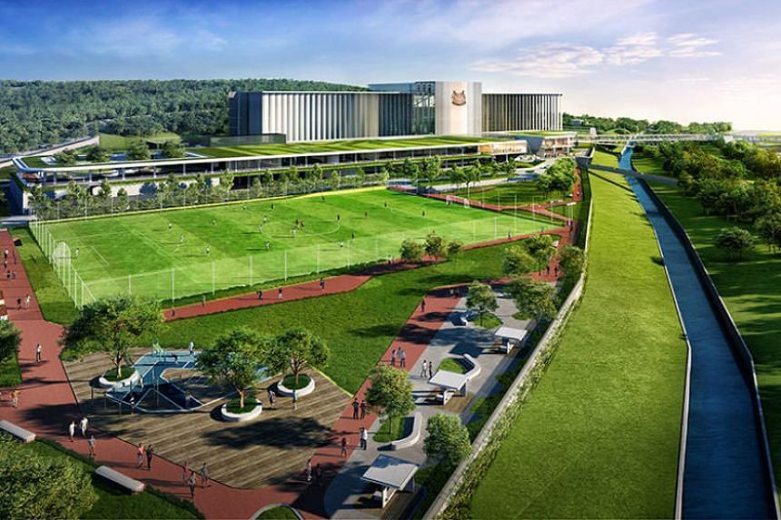 An artist's impression of the NS Hub in Bukit Gombak.