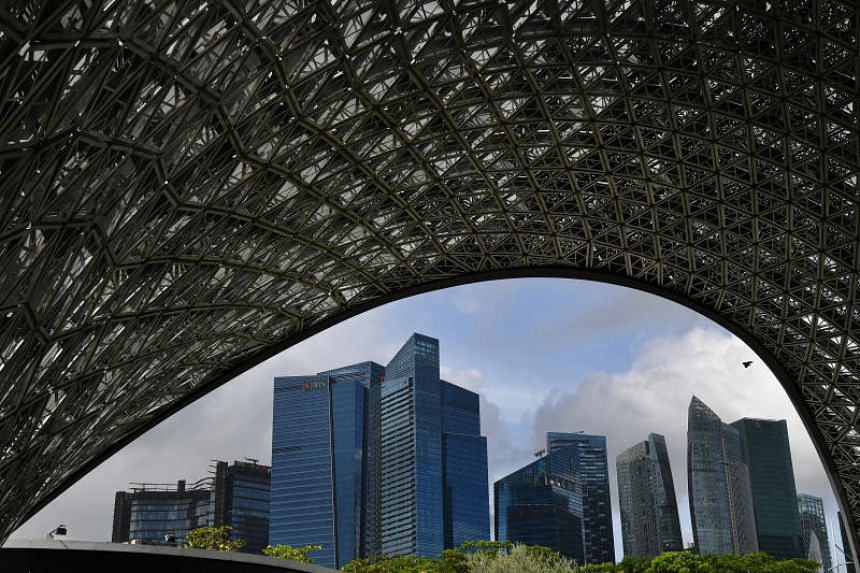 A view of the financial district. Banks in Singapore are stepping up their game for family businesses in Singapore.