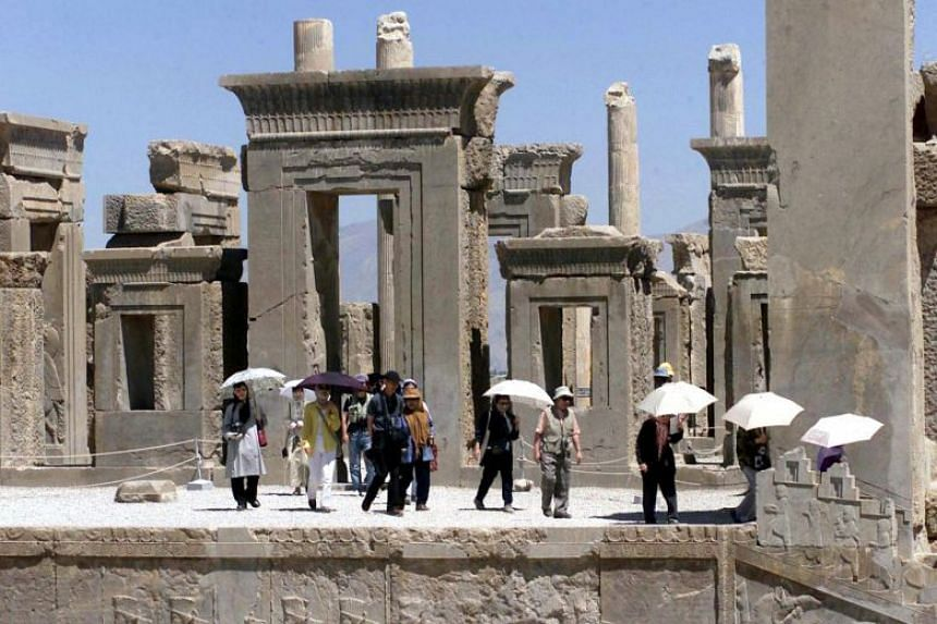 Iran has 22 cultural sites designated on the World Heritage List by Unesco, including the ruins of Persepolis.