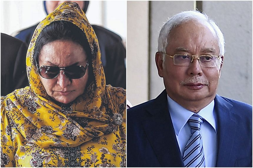 One of the conversations allegedly involve former prime minister Najib Razak and his wife Rosmah Mansor.