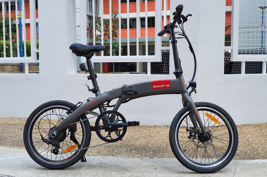 The Smart 1S model of TWD's power-assisted bicycles.