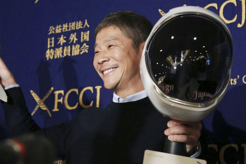 Japanese fashion tycoon Yusaku Maezawa will give 1 million yen to 1,000 followers selected at random from those who retweeted a Jan 1 post, with the impact of the money to be tracked through regular surveys.