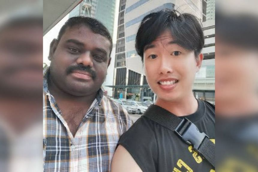 Mr Sateesh Karuppusamy cut short his family holiday in Malacca to return the Prada wallet to Mr Carney Mak.