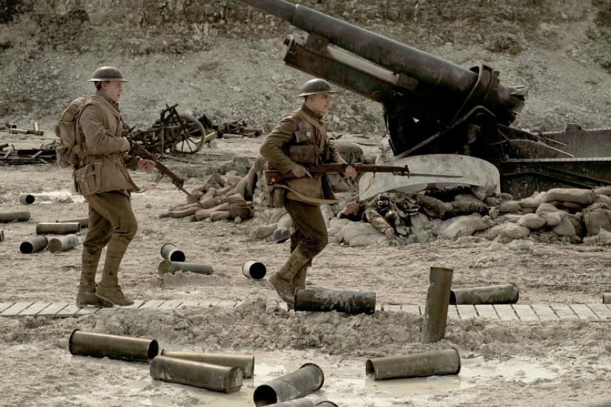 In 1917, two lowly soldiers are charged with delivering a message from one part of the battleground in France to another.